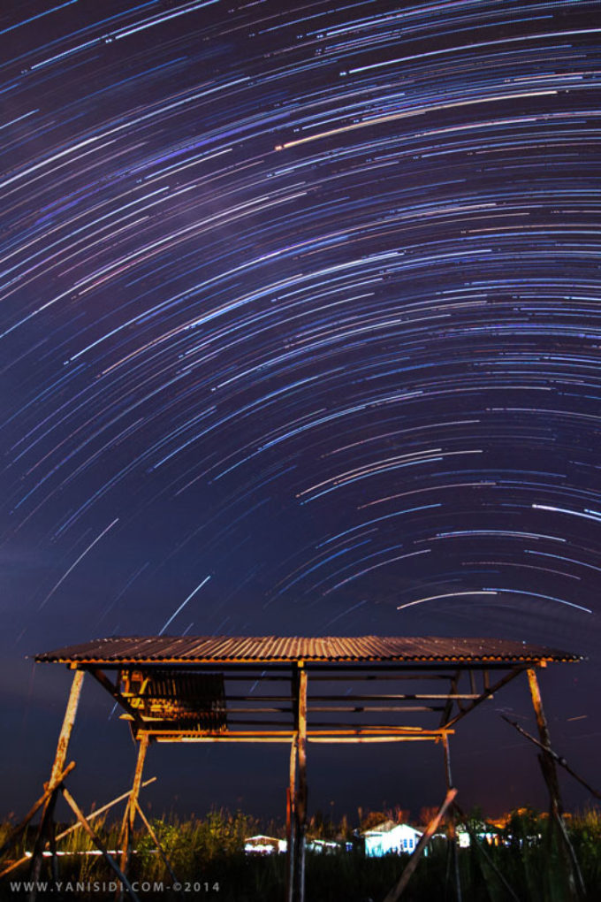 Creating Foreground for Startrail Photoshot